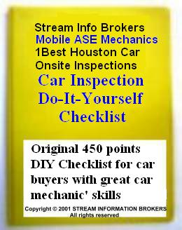 Original Car Inspection DIY Checklist